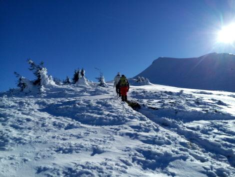 Зимний поход в горы. Поход в Карпаты на Новый Год