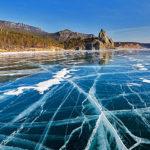 Поход на Байкал. Зимний поход на коньках по Байкалу