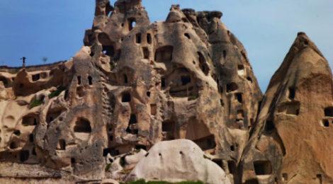 Каппадокия Восхождение на Эрджияс Поход по Турции