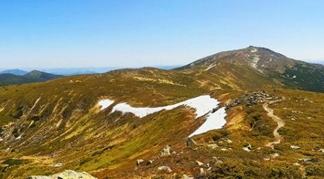 Мармарош. Поход по Мармаросам. Вид на Черногорский Хребет