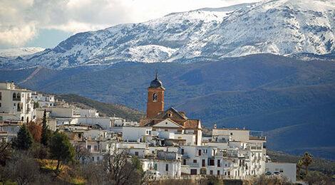 Горная Андалусия. Гранада. Сьерра-Невада. Известковые Альпы. Треккинг в Испании.