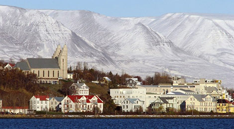 Автотур по Исландии. Исландия на машине. Акурейри.