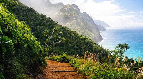 Гавайи. Треккинг на Гавайях. Активный тур на Гавайях. Тропа Калалау