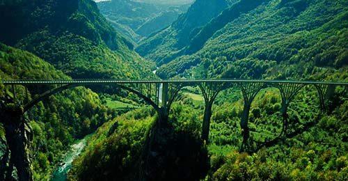Каньон Тара. Поход по Черногории. Дурмитор