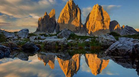 Доломиты. Доломитовы Альпы. Треккинг в Доломитах. Треккинг в Доломитовых Альпах. Тре-Чиме-ди-Лаваредо