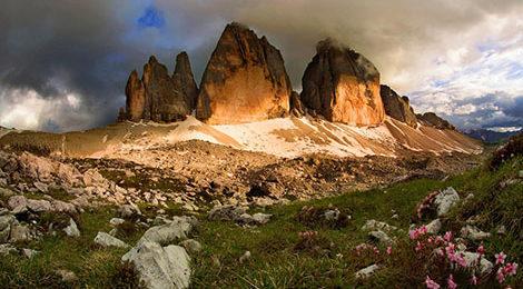 Доломиты. Доломитовы Альпы. Треккинг в Доломитах. Треккинг в Доломитовых Альпах