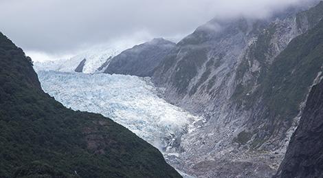 Треккинг в Новой Зеландии. Ледник Франца-Иосифа (Franz Josef Glacier) . Great Walks